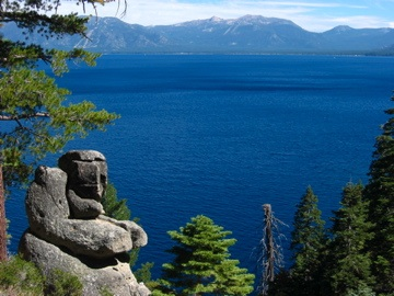 Lake Tahoe from D.L. Bliss State Park. Source: M. Sweeney